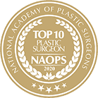 Top 10 Plastic Surgeon award